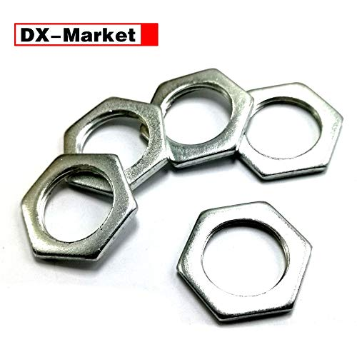 Nuts Hexagon Thin Nuts,fine Thread Thin nut M6 M7 M8, used for sale  Delivered anywhere in USA