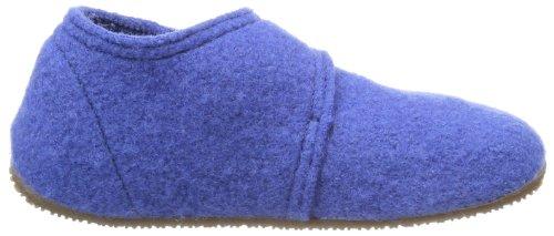 Bleu Baby Victoria Unifarben Kitzbühel 558 Blue Chaussons Klettschuh Living Mixte Enfant q5RP0P