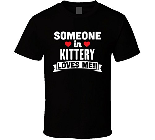 Jokertshirt Someone In Kittery Maine Loves Me Funny Cool City T Shirt XL - In Maine Kittery Shops