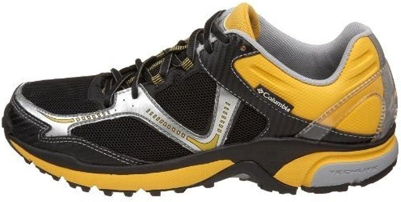Columbia Ravenous - Zapatillas de Running de Tela para Hombre Negro Black Cyber Yellow, Color Negro, Talla 42.5: Amazon.es: Zapatos y complementos