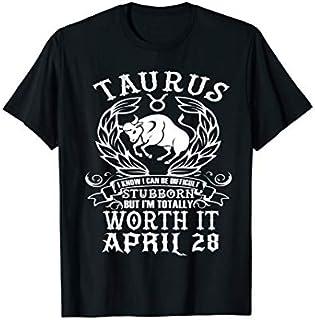 ⭐️⭐️⭐️ Taurus Zodiac April 28 Tshirt for women man Birthday Gift Need Funny Short/Long Sleeve Shirt/Hoodie