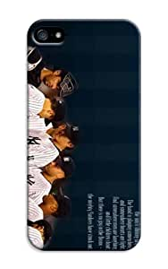 LarryToliver iphone Case - Thin Shell Plastic Case iphone 5/5s Case - Customizable Baseball New York Yankees