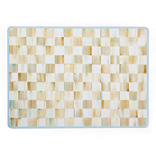 (MacKenzie-Childs Parchment Check Cork Back Placemats - Set of 4)