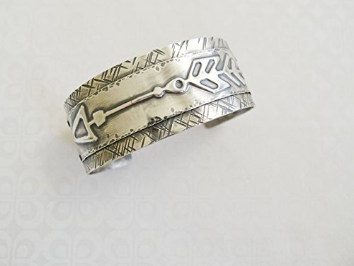 - Sterling Silver Wide Arrow Cuff Bracelet