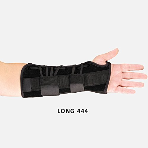 444-RM Orthosis Wrist/Forearm Lacing Perforated Suede Right Med Black Part# 444-RM by Hely & Weber Qty of 1 Unit...