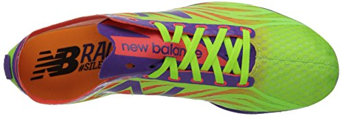 New Balance Dames Ld5000v3 Track Spike Lime / Paars