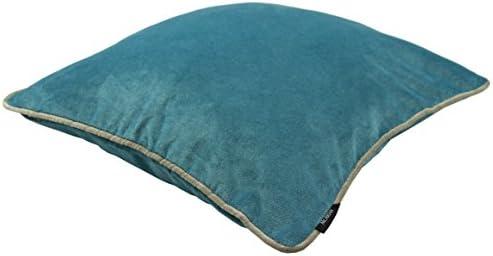 Gold Foil Zebra Print Filled Cushion 45cm Luxury Matte Velvet Dark Blue Teal