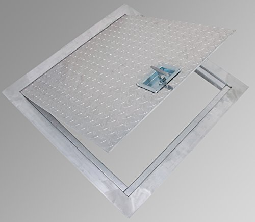 Cendrex PPA24X24 aluminum floor hatch ()