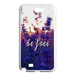 Be Free Unique Fashion Printing Phone Case for Samsung Galaxy Note 2 N7100,personalized cover case ygtg580387