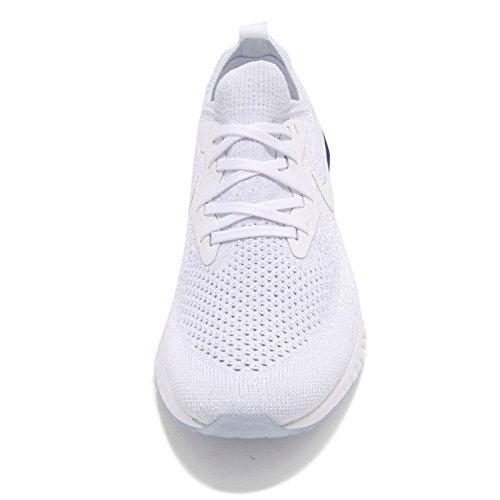 Donna Running Wmns 100 Epic React Flyknit White Black NIKE Scarpe Multicolore xPn1Fq1wc