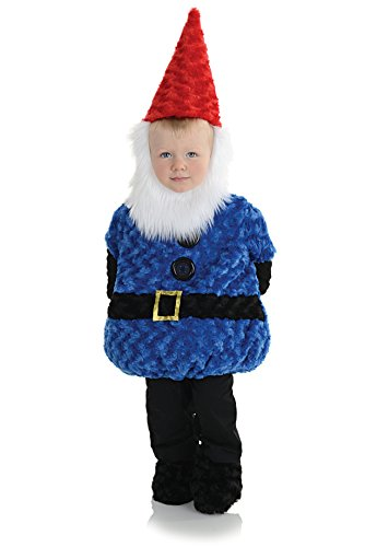 Underwraps Baby's Gnome Belly-Babies, Blue/Black/Red/White, Medium