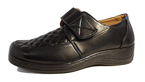 Mujer Negro De Cordones Zapatos 3 hohenlimburg Material Con w Sintético ycnyWxSA