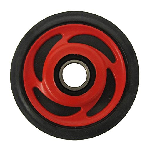 Genuine Polaris Part Number 1590275-293 - ASM-WHEEL SCROLLED,5.35,I RED for Polaris ATV / Motorcycle / Snowmobile/ or Watercraft ()