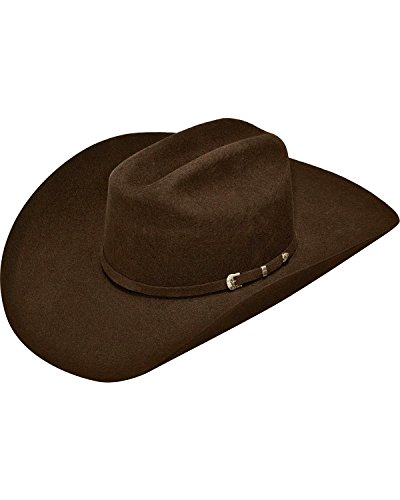 Cowboy Hat Styles (ARIAT Men's A7520047 Chocolate 7)