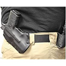 """Advanced Performance Shooting Holsters """"ASOB"""" (Almost Small of the Back) Black"""