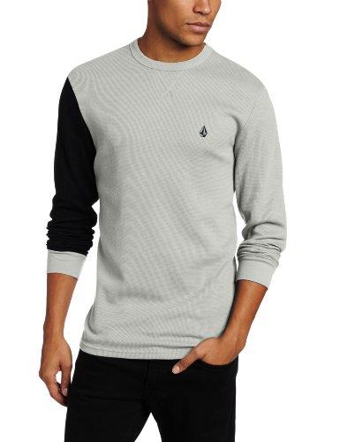 Volcom Men's Block Long Sleeve Thermal T-Shirt
