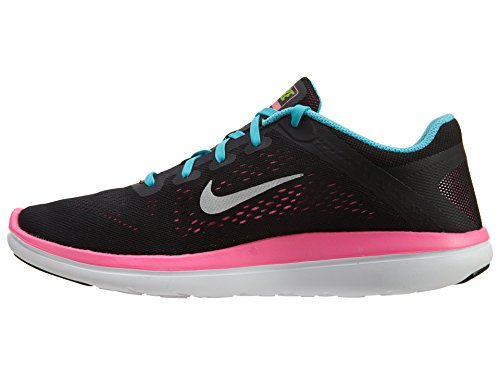 Flex Niñas Para De Running gs 2016 Rn Black Zapatillas Nike 8wqdp8x