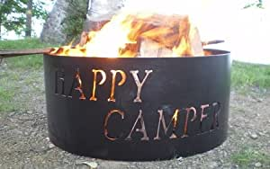 Happy Campers Fire Pit Ring