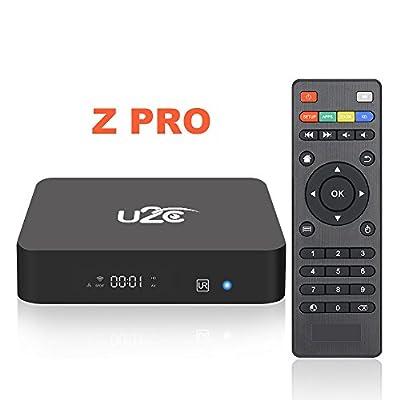 [2017 New Model] Z PRO Android 7.1 TV Box Amlogic S905X 2GB RAM 8GB ROM Quad Core 64bits Support 3D 4K H.265 VP9 Media Player Smart TV BOX