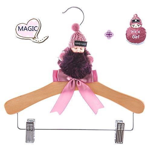 Fun-loving-Magic Cute Baby Clothes Hangers-It's a Girl-Unique Baby Surprises -