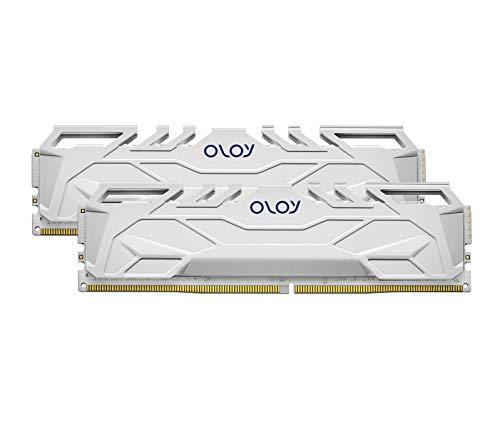 OLOy DDR4 RAM 16GB (2x8GB) 3000 MHz CL16 1.35V 288-Pin Desktop Gaming UDIMM (MD4U0830160BHWDA)