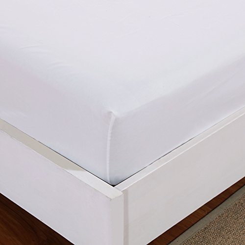 Mohap Fitted Sheet Queen White Deep Pocket Brushed Microfiber 1800 Durable Breathable Wrinkle and Fade Resistant Fits Mattress up to 16'' by Mohap
