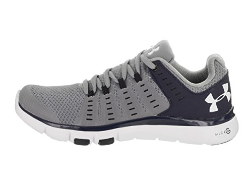 Under Armour Vrouwen Micro G Onbegrensde 2 Team Training Schoen Staal / Midnight Navy / Wit
