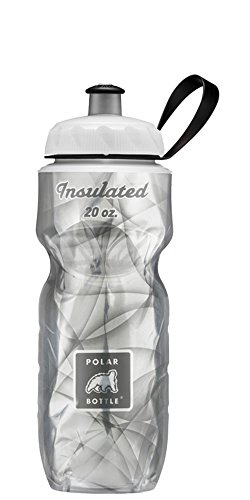 Polar Bottle Amazon Exclusive Insulated Water Bottle - 20oz. (Silver Haze)