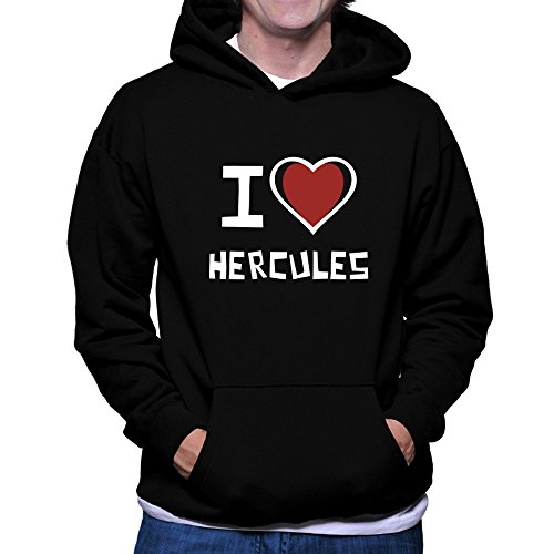 Teeburon I love Hercules Hoodie