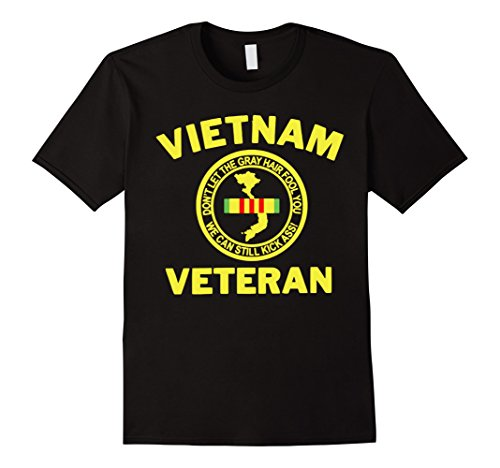 Men's Vietnam Veteran T-Shirts Gift For Veterans Day 2016 Shirts XL Black