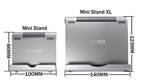 Techmatte Ipad Pro Stand Multi Angle Aluminum Holder For