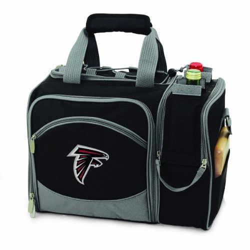 - NFL Atlanta Falcons Malibu Insulated Shoulder Pack with Deluxe Picnic Service for Two