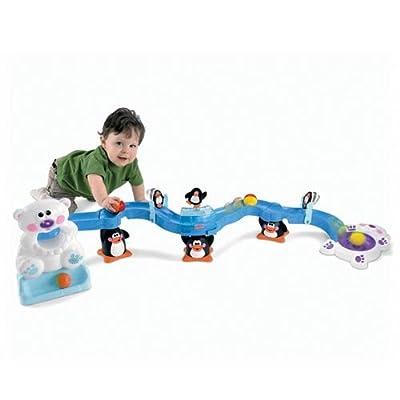 Fisher-Price Go Baby Go Sit-to-Crawl Polar Coaster: Toys & Games