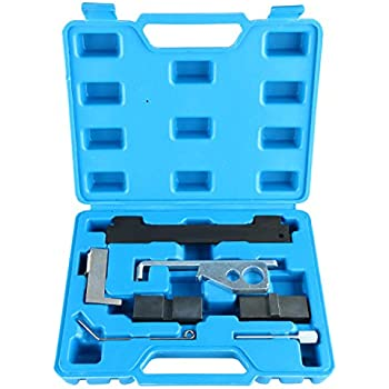 8MILELAKE Camshaft Tensioning Locking Alignment Timing Tool Kit Compatible for Chevrolet Alfa Romeo 16V 1.6 1.8