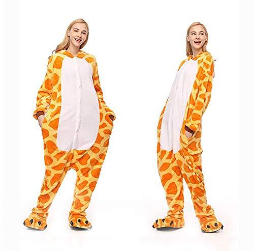 s Per Costumi Onesies Flanella Pigiama Di Shangxian Animale Giraffa Party Costume Halloween I Kigurumi z0xwqzOtWF