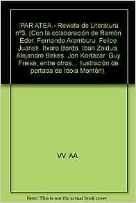 IPAR ATEA.- Revista de Literatura nº3. (Con la