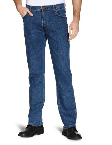 lightstone Stone Light Uomo Jeans Texas Wrangler Stretch Blu RpqBanw