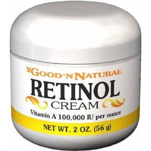 Crème Rétinol (vitamine A Iu 100.000 par once) - 2 Oz