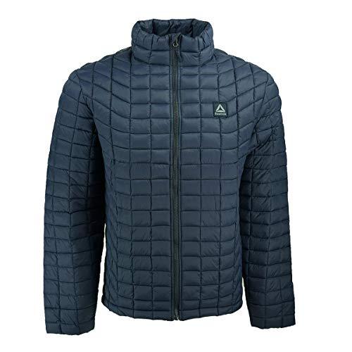 - Reebok Men's Polar Fleece Active Jacket, with with Softshell no Hood Navy L