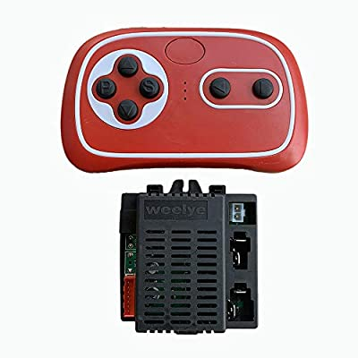 weelye RX57 12V 2.4G Bluetooth Remote Control and Receiver for Kids Ride On Toys, 12V Control Box Motherboard Accessories for Kids Powered Wheel Circuit Board Replacement Parts: Toys & Games