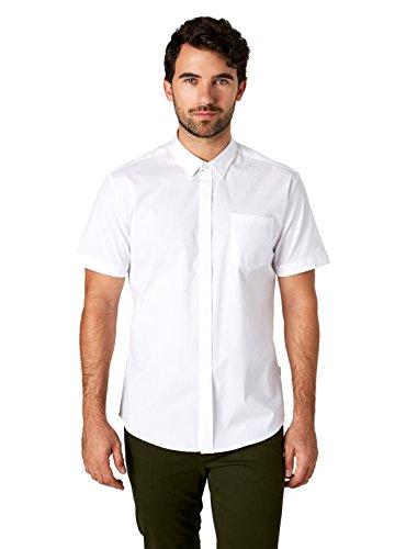 7 Diamonds City Savior Short Sleeve Shirt (XX-Large, White)