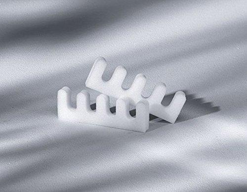 Zehentrenner Kosmetex Zehenspreizer, Hilfe beim Lackieren und Pflege der Nägel. 1 Paar