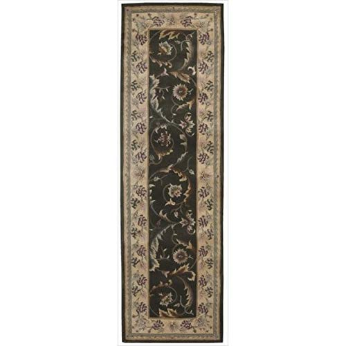 - Nourison Versailles Palace VP01 Hand-Tufted Area Rug Green 2'3