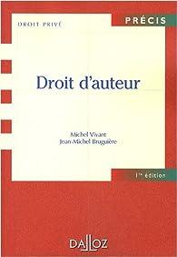 Droit d'auteur par Michel Vivant