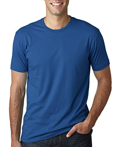 Next Level Mens Premium Fitted Short-Sleeve Crew T-Shirt - X-Small - Cool Blue ()