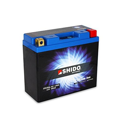 Litio Azul Precio incluye euros 7,50/pfand shido lb16al de A2/Lion/ /S bater/ía de litio