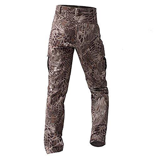 Eastery Invernali Lavoro Cotone Militari Da Trasporto Trekking Semplice Uomo In Caldi Stile Pantaloni Velluto KclTJF1