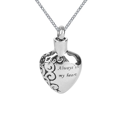 Cremation Pendant Necklace Keepsake Memorial product image