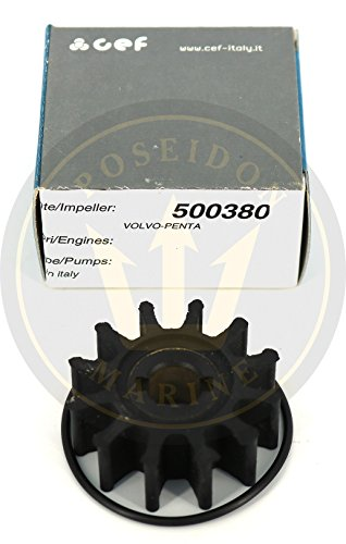 CEF Impeller for Volvo Penta MB2/50S RO: 3555413 3555413-8 3551603 by CEF (Image #4)