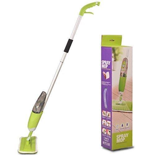 Spray Mop 360 Degree Professional Spray Mop + 2 x Ultra Soft Microfibre Mop (Microfibre Mop)